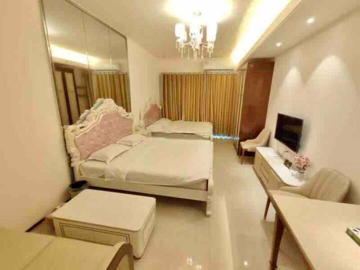 海花岛2号岛家庭房4人间 288栋 豪华温馨2张1.8大床