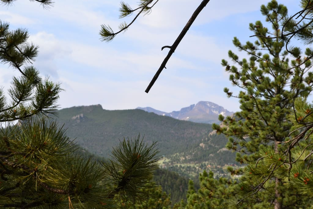 Views of Longs Peak