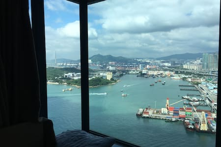 Ocean view 2BR apartment (rare to find in HK) - Daire