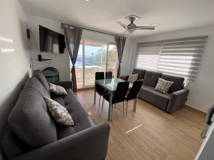 Magnifico apartamento con vistas al mar, 1ª Linea