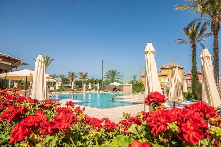 Three bedroom villa on the Mar Menor Golf Resort. Murcia Vacations