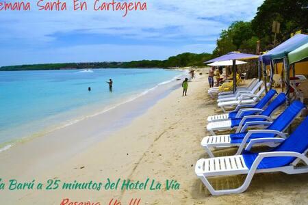 Hotel La Vía Cerca a  Playa Blanca