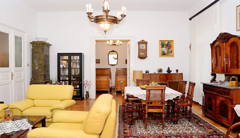 Living Room Zagreb. view from the living room showing the ...