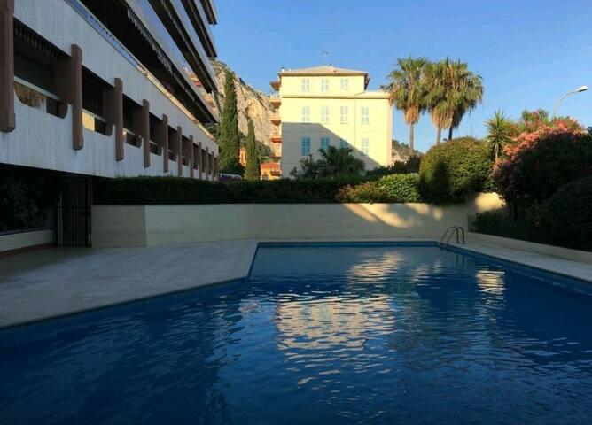 Appartement de 43m2 calme avec piscine