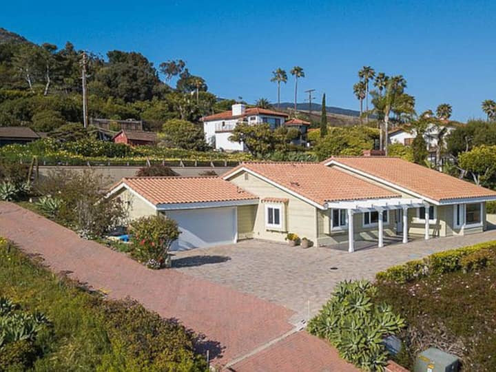Malibu Park ocean view Ranch style home