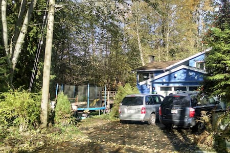 North Vancouver home in the forest Feb-March only - North Vancouver - Talo