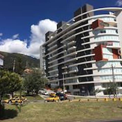 Suite 8 Vista increíble y balcón! sector El Bosque