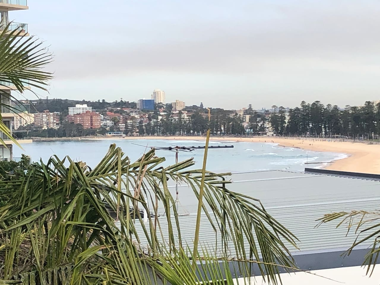 Stunning views of Manly Beach and Manly Lagoon