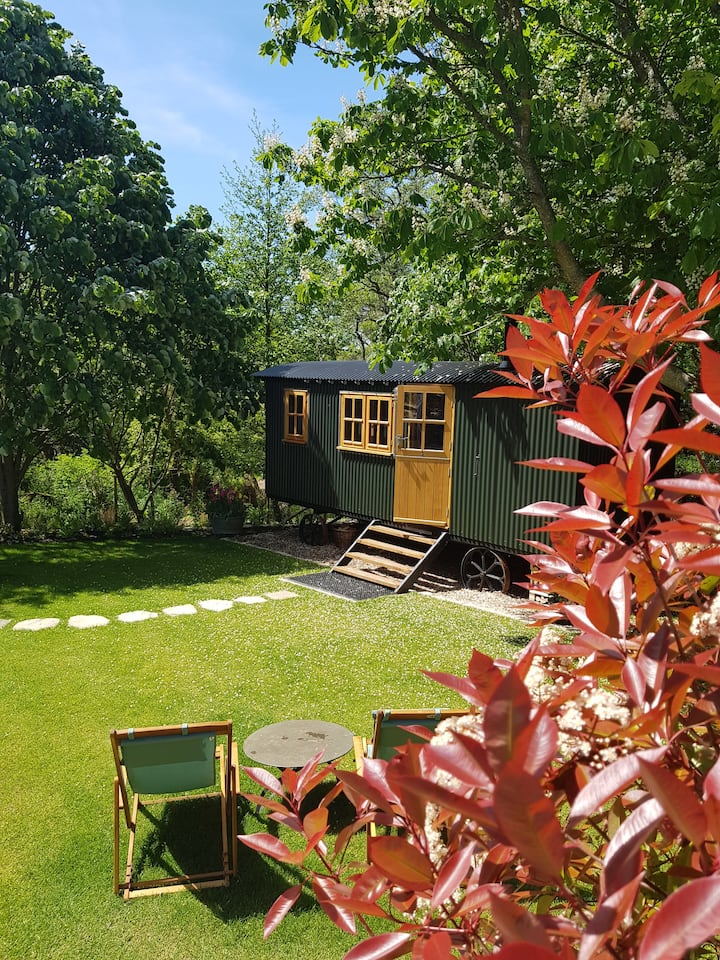 A Shepherd's Hut offering Luxury glamping, Dorset