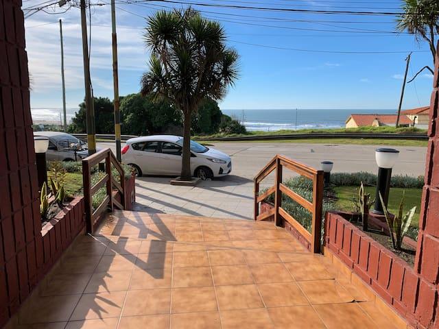 Increible departamento frente a la playa