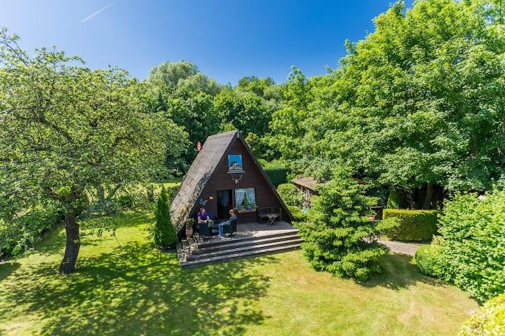 Uriges Ostsee Finnhaus inmitten der Natur