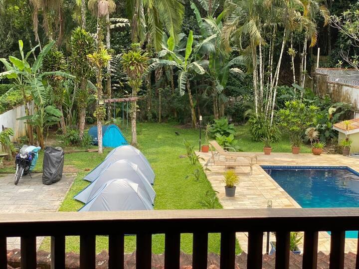 051) Barraca de Camping - Praia Tenório Vermelha