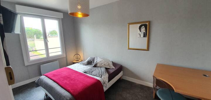 2-chambre COLLOC maison indépendante-IDEAL CNPE
