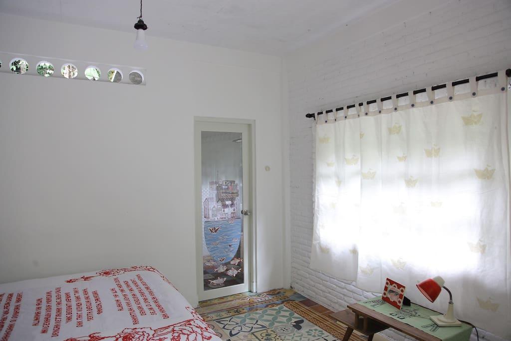 mid century concept of Senja's room