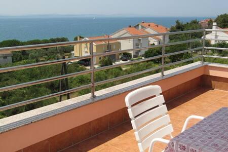 Studio Apartment Biuk 3 sea view/near the beach - Kožino