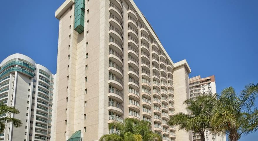 Flat em Hotel de luxo com estacionamento - Río de Janeiro - Apartotel