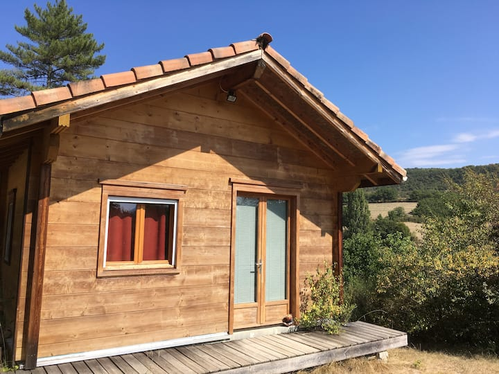 Chalet  bois massif en Drôme