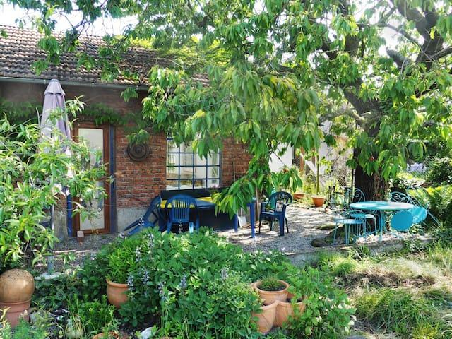 Maison au calme avec jardin au coeur de l'Alsace