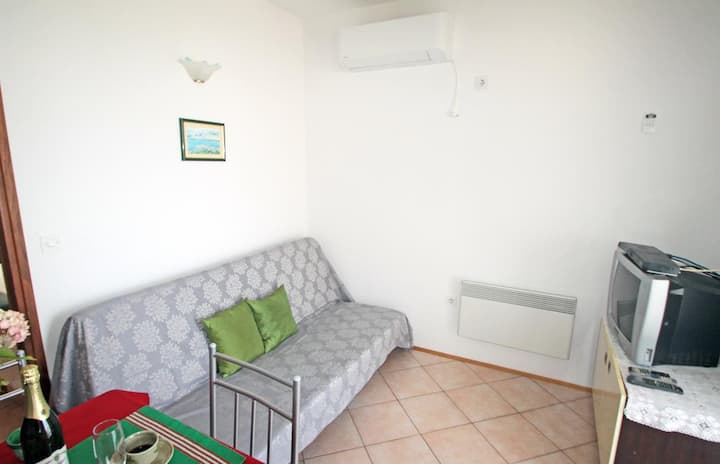 One bedroom apartment with balcony and sea view Vinjerac, Zadar (A-5824-b)