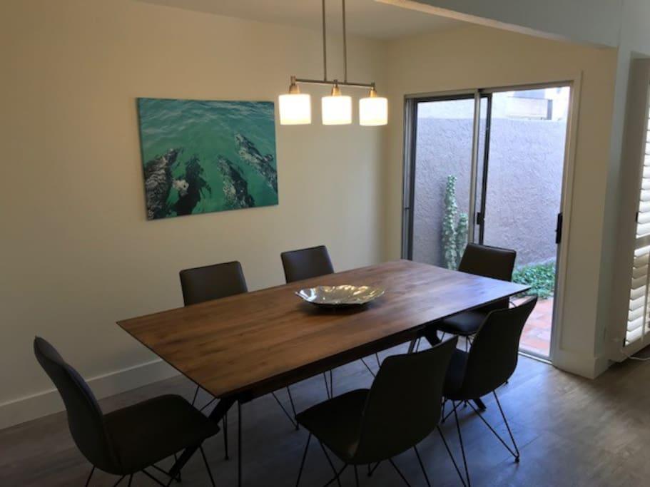 dinner area