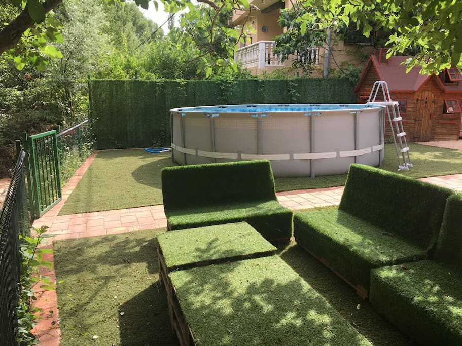 Zona chill out y zona infantil