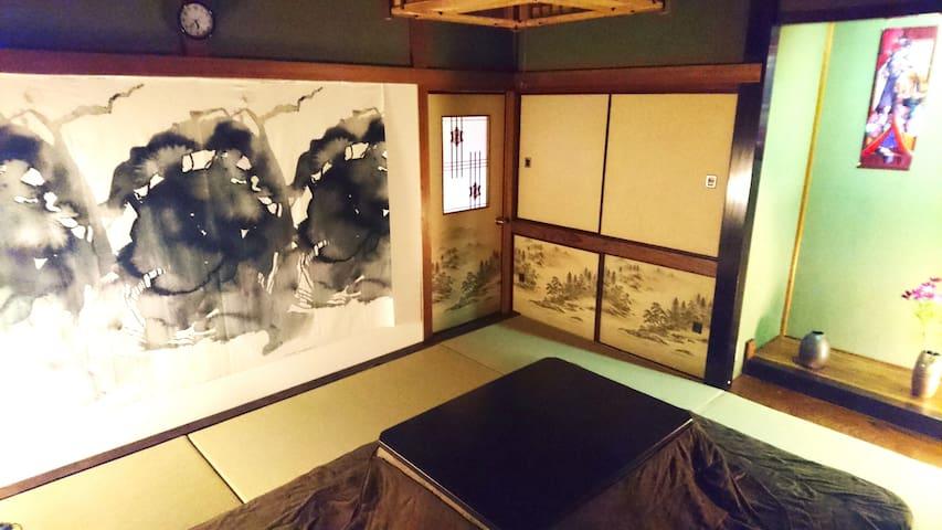 東京都中心部/木場駅·東陽町駅/Traditional tatami /Bird House