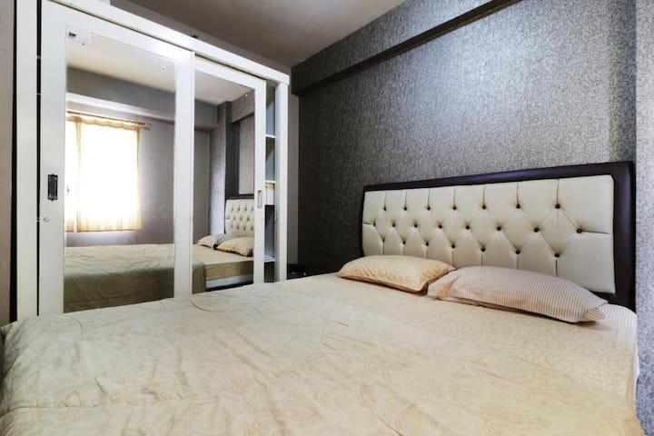 2 Bedroom at Apartment Kalibata City by Novi