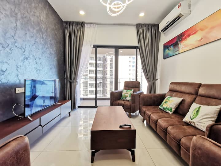 ❤️❤️Luxury 3Bedroom❤️❤️ Danga Bay Country Garden❤️