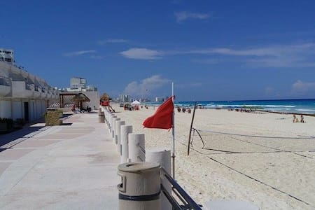 Cozy studio 4/5 pax beach property - Cancún - Apartment