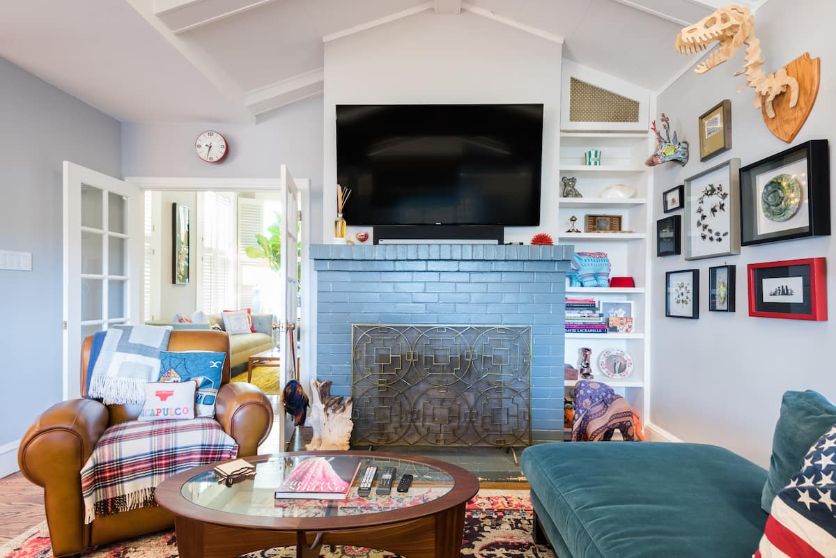 Bask in Colorful Chic Throughout Impeccable Castro Victorian