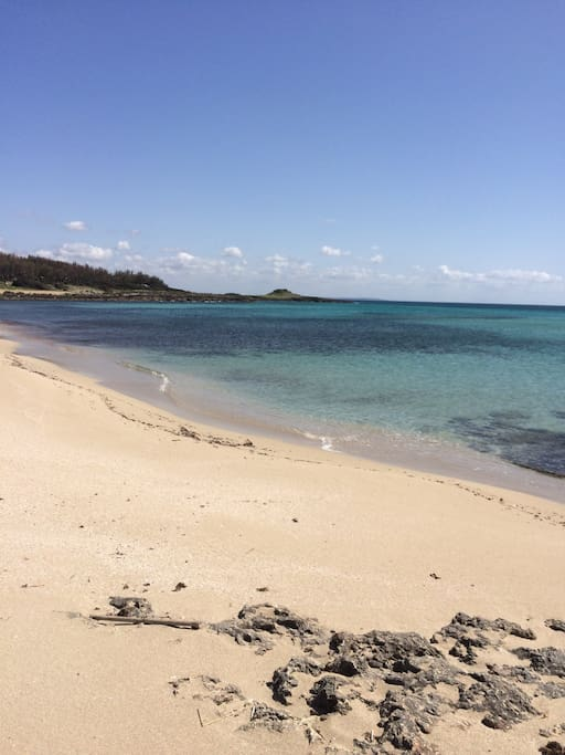 La spiaggia vicino casa