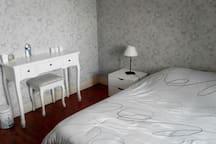 chambre spacieuse et au calme