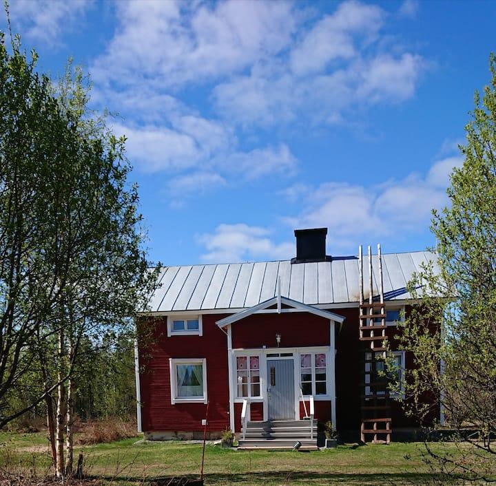 House Near Arctic Circle