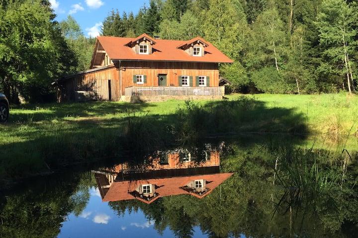 Ruhe-Oase im Waldhaus
