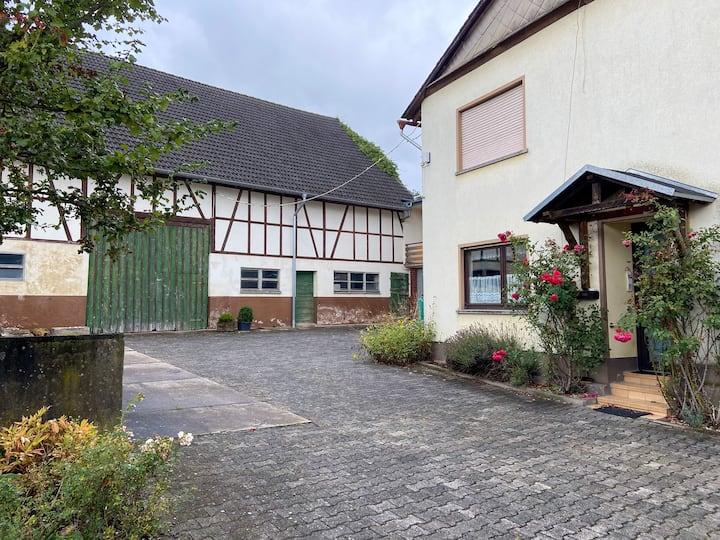"""Gemütliche Ferienwohnung in """"Schabbach"""" (Hunsrück)"""