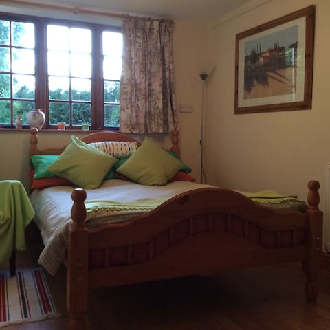 Double ensuite room with access to patio - Burcombe - Suite per als hostes