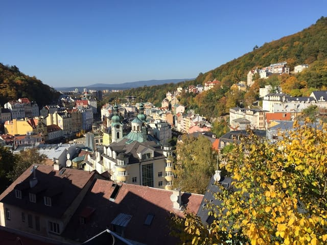 The most amazing view of the city! Room for 1 p. - Karlovy Vary