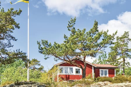 Holiday cottage with 2 bedrooms on 39m² in Åkersberga