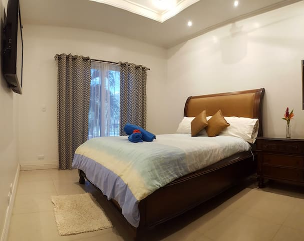 Bedroom with walkout balcony