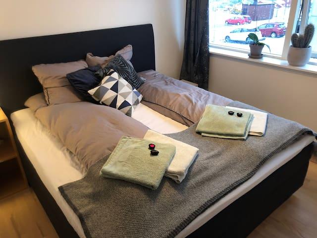 Nordic minimalist 2BR apartment in peaceful area