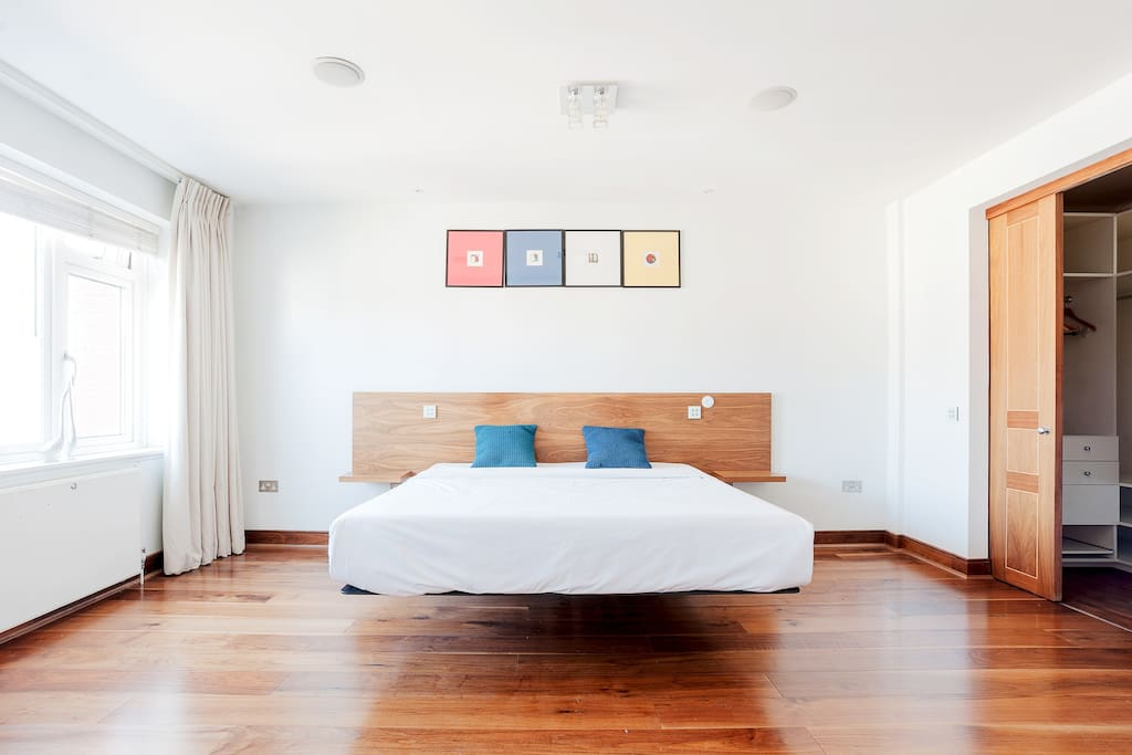 Two spacious bedrooms...