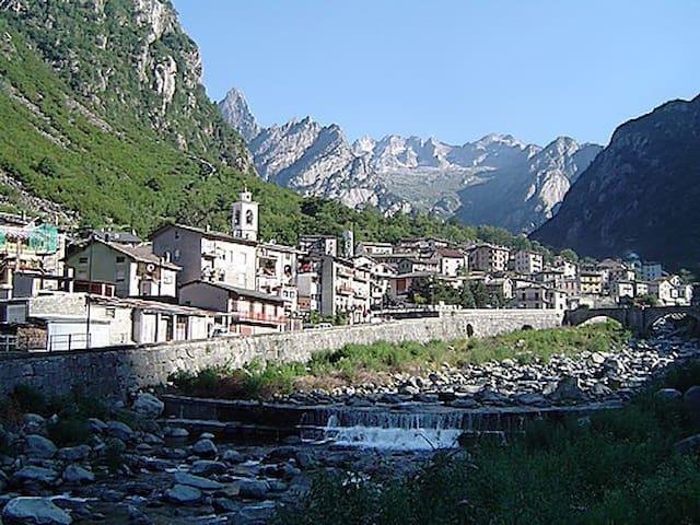 Val Masino-Casa vacanze in montagna