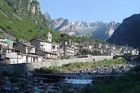 Val Masino-Casa vacanze in montagna SELF CHECK-IN