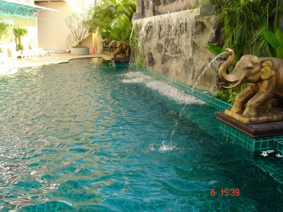 Patong room for rent - Including a swimming pool