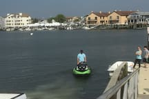 Launch for Jet Skis and boats at Marina - Free!