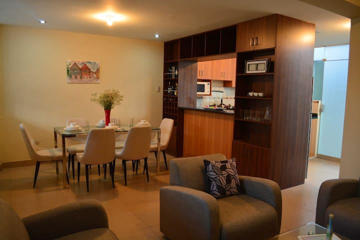 Apartamento acogedor y económico!!