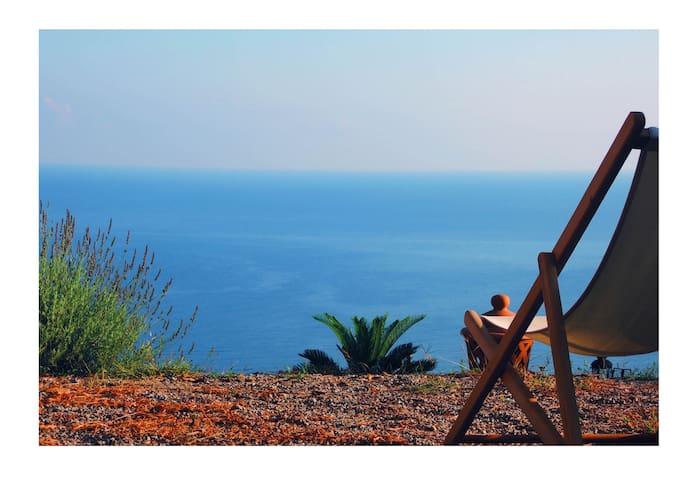 maison de charme face à la mer - Torremuzza - Dům