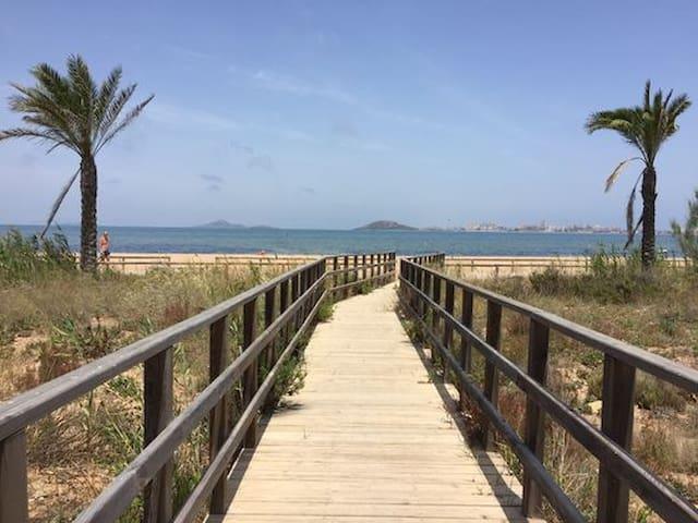 Cozy Beach Apartment + 2 bikes free + secret map