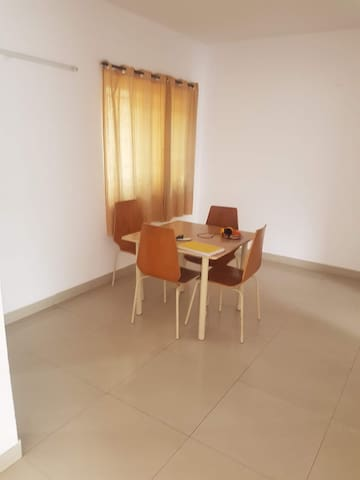 Spacious apartment close to IIM