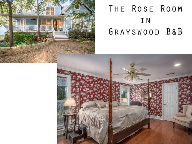 The Rose Room in Grayswood B & B